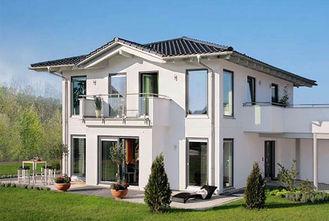China White Steel Structural Prefab Villa supplier