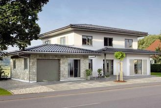 China Energy Saving Prefabricated Steel Structure Villa , Modern Prefab Villa For Family supplier
