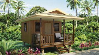 China Heat Insulation Prefabricated Home Beach Bungalows , Beach House Bungalow supplier