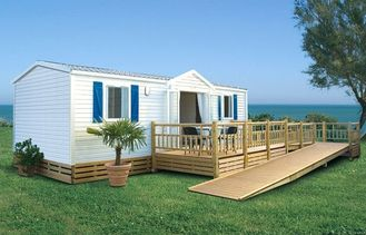 China Europe Style Prefabricated Mobile House / Luxury Mobile Homes For Living / colorbond roofing supplier