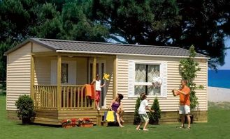 China Europe Style Mobile Homes , removable Holiday Home , Foldable House supplier