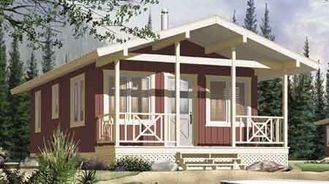 China Long Life Prefab Bungalow Homes , Affordable Prefabricated light steel  Homes For Living supplier