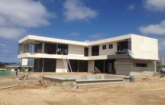 China Light Steel Frame House , Two Floors , Three or Four Bedrooms Villa supplier