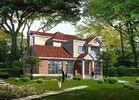 China Prefabricated Light Gauge Steel Structure Villa , Steel Prefabricated Houses factory
