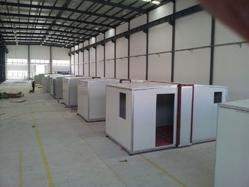 China High quality Foldable Portable Emergency Shelter / After-Disaster Housing / Sandwich Panel Housing distributor